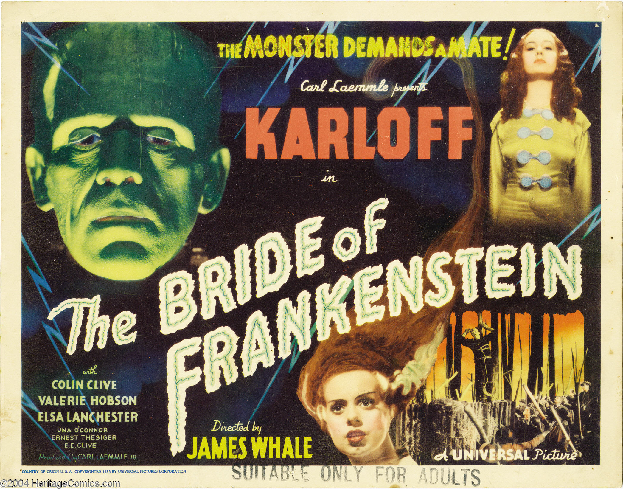 Universal Monsters: u201cBride of Frankensteinu201d (1935) : DreamPunk