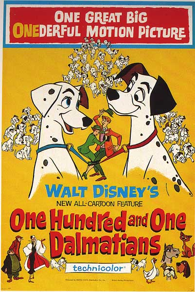 Year Of Disney 17 One Hundred And One Dalmatians 1961 Dreampunk