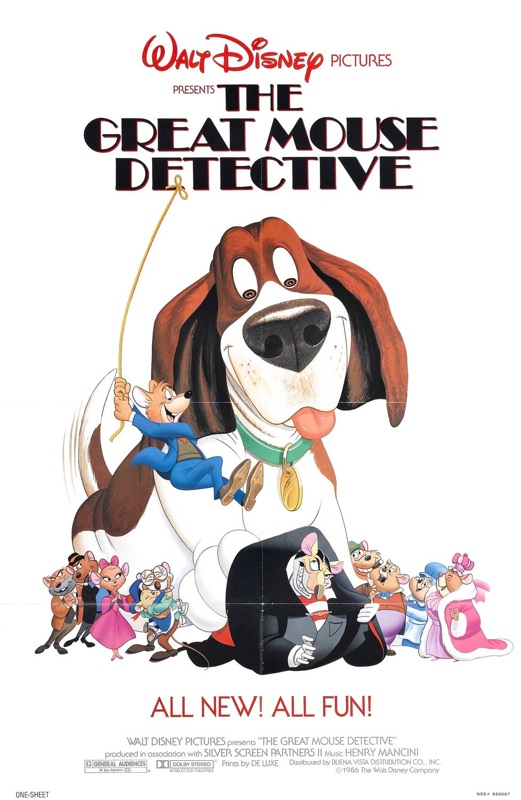 """""""The Great Mouse Detective"""" Poster"""