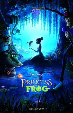 """""""The Princess and the Frog"""" Poster"""