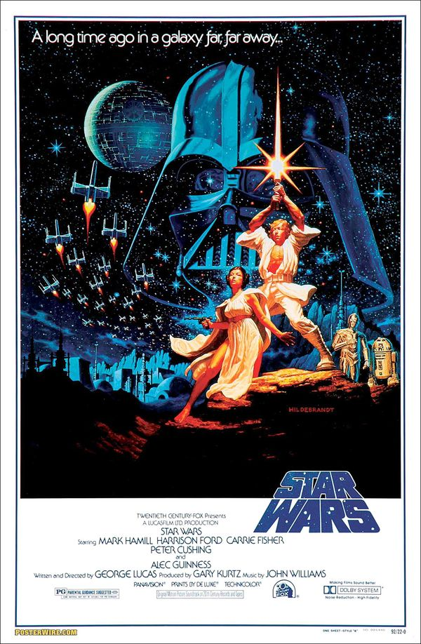 "Original ""Star Wars"" Poster"