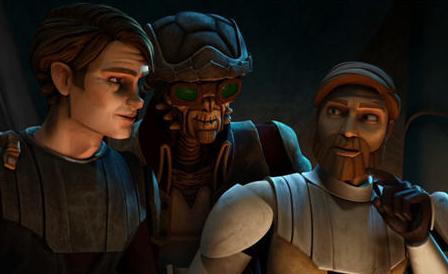 Anakin, Hondo, and Obi-Wan