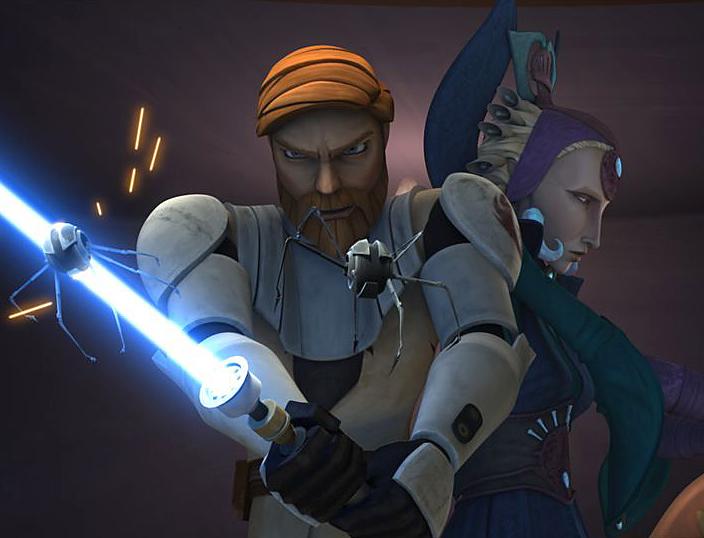 Obi-Wan and Satine