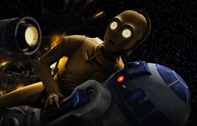 Threepio and Artoo